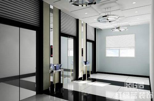 电梯厅走廊设计方案_电梯厅走廊设计方案--北京红绿蓝