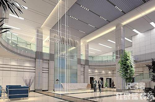 写字楼大厅设计方案欣赏_写字楼大厅设计方案效果图